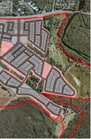 West Byron suburb layout